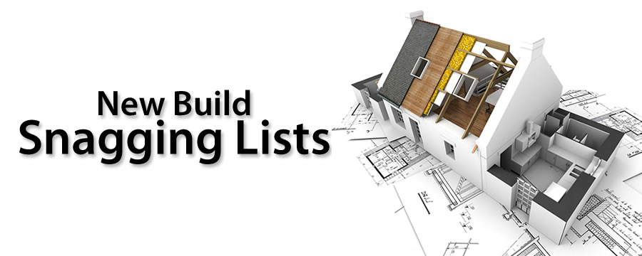 New Build Snagging Lists